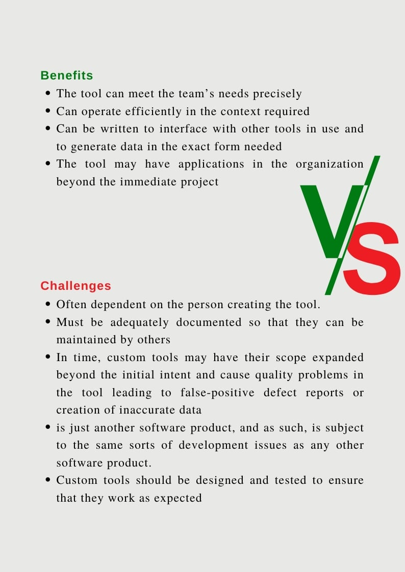 Principles for Test tool selection2