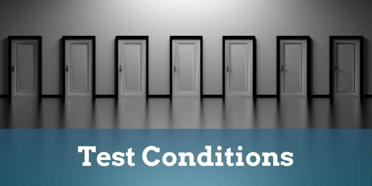 Test Conditions