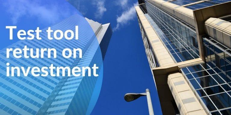 Test tool return on investment (2)
