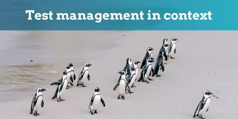 test management in context