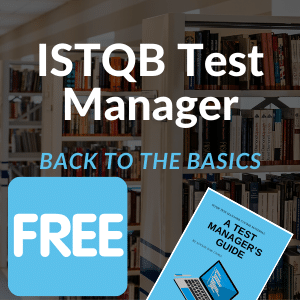 Test Manager - Back to the basics 2